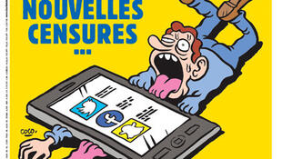 Primeira página do jornal Charlie Hebdo