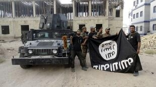 图为圣战分子夺取伊拉克Anbar大学的资料照片