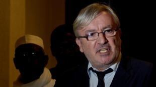François Serres, l'un des avocats de l'ancien président Habré, a qualifié le procès de « tache pour l'Afrique»