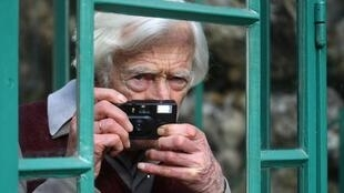 French photographer and reporter Marc Riboud in 2009