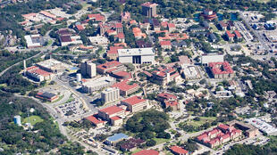 L'université du Texas à San Marcos.