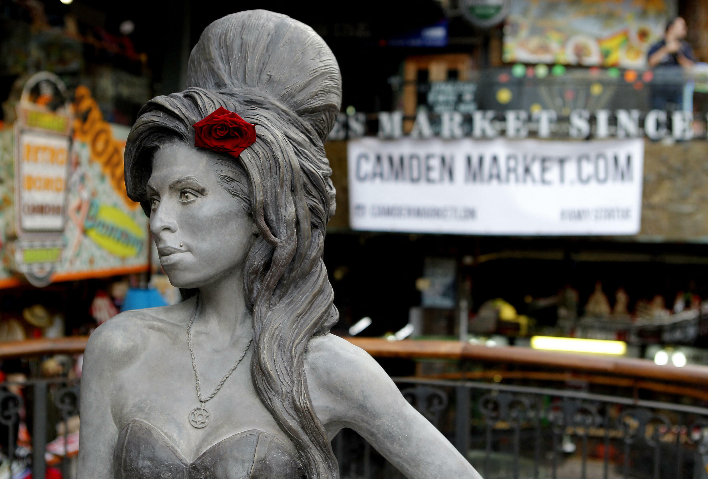 Amy Winehouse - Camden Town - Londres