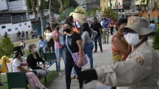 Entre 2012 et 2013, Alex Saab aurait facturé 159 millions de dollars pour fournir en matériaux la «gran mission vivienda», la construction de logements sociaux pour les plus démunis (image: Caracas).
