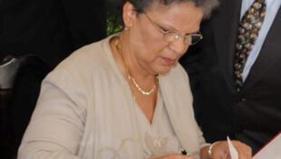 Michelle Pierre-Louis a été la 2è femme à accéder au poste de Premier ministre en Haïti.