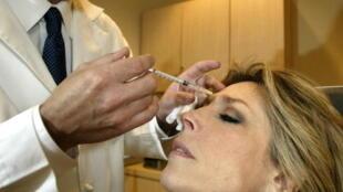 Une injection de toxine botulique coûte en moyenne 400 euros.