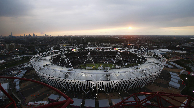 Olympic Stadium in London 2012