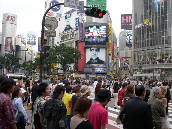 Parmi les 23 arrondissements de Tokyo, celui très branché de Shibuya ne comporte pas moins de 210.000 habitants.