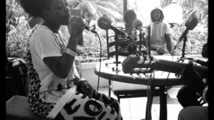Sessimè en live à Lomé (Togo).