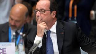 Presidente francês na cimeira do G20 na China