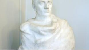 The Napoleon bust, by Rodin, was discovered in 2014 in New Jersey by a 22-year-old art history student.