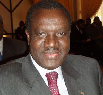 Kadré Désiré Ouédraogo, ancien Premier ministre burkinabè et candidat à la présidentielle de 2020 au Burkina Faso.
