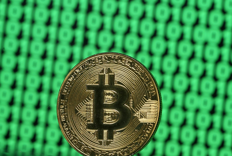Le bitcoin, une monnaie virtuelle (image d'illustration).
