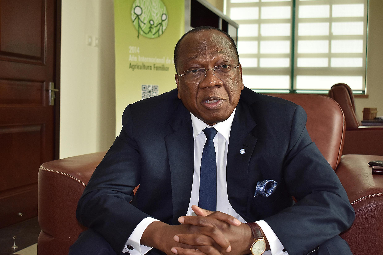 Francois Lounceny Fall, representante especial do secretário-geral das Nações Unidas para a África Central