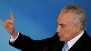 Rais wa zamani wa Brazili Michel Temer anakabiliwa na madai ya rushwa.