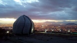 معبد جدید بهائیان در شیلی