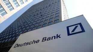 Sede do Deutsche Bank em Frankfurt.