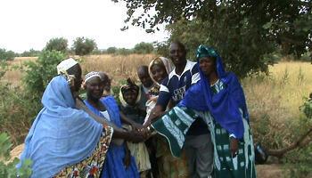 Les membres du bureau du Périmètre Khollimouké.