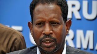 Abdirahman Omar Osman en octobre 2017.