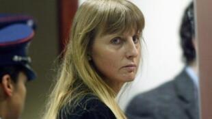 Michelle Martin, l'ex-femme du pédophile Marc Dutroux.