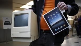 How revolutionary will it be? A classic Apple Mac and an iPad