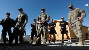 Troupes américaines dans la province de Logar en Afghanistan, le 5 août 2018 (photo d'illustration).