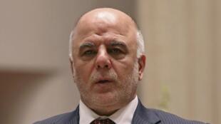 Le Premier ministre irakien par intérim Haïdar al-Abadi.