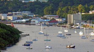 Le front de mer à Port-Vila, la capitale du Vanuatu (Image d'illustration).