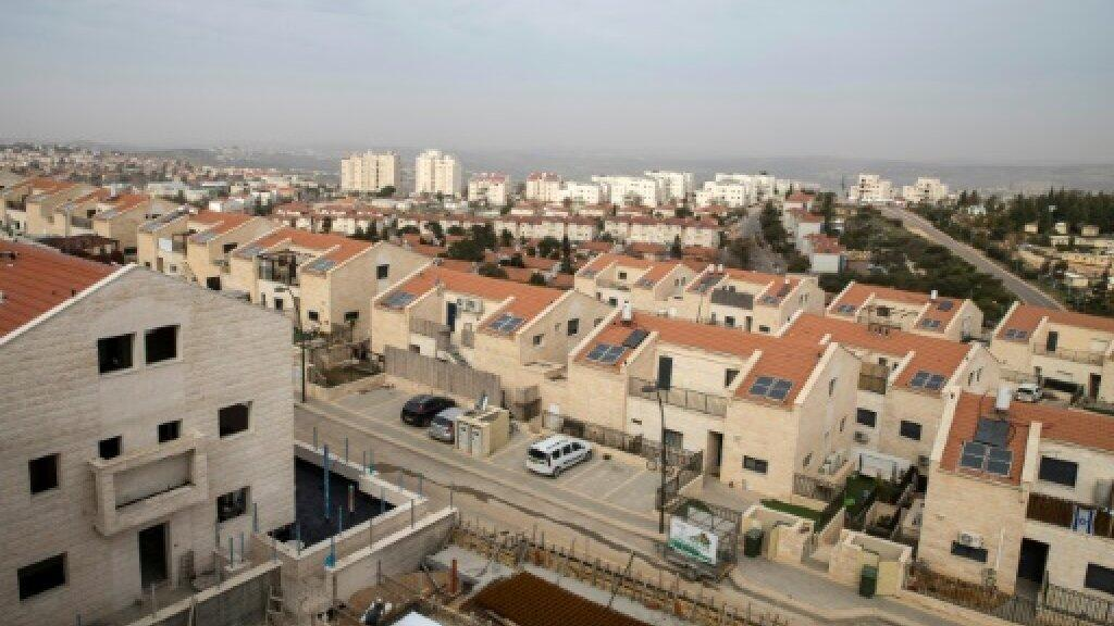 Wasu daga cikin sabbin gidajen da gwamnatin Isra'ila ta ginawa Yahudawa a shekarar 2017 da suke yankin Nablus a yamma da kogin Jordan.