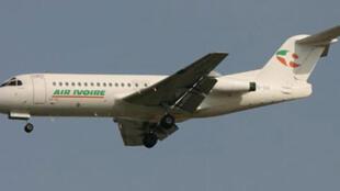 Un avion de la compagnie Air Ivoire qui avait interrompu ses activités il y a deux ans.