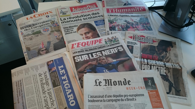 Diários franceses 17.06.2016