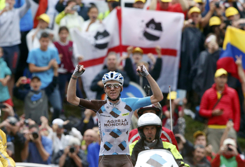 Romain Bardet a sauvé l'honneur des Français en s'imposant le 22 juillet 2016 à Saint-Gervais Mont Blanc lors de la 19e étape.