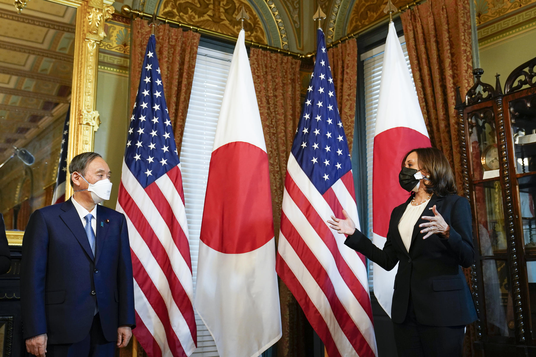 Etats-Unis - Japon - Suga - Harris