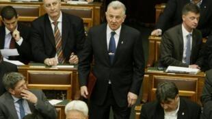 O presidente húngaro, Pal Schmitt, disse que fará uma nova tese de doutorado.