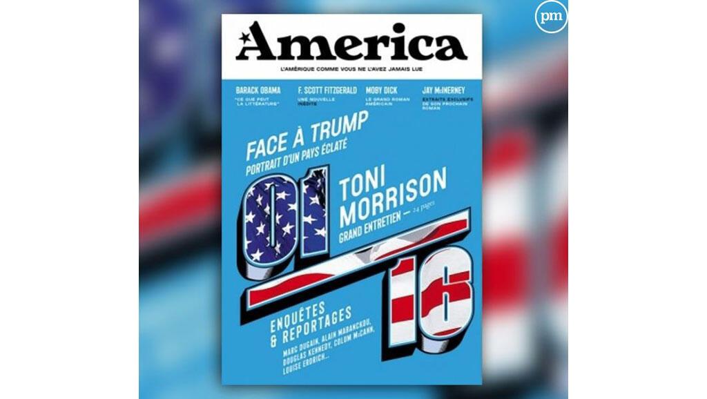 «America», la nouvelle revue d'Eric Fottorino et François Busnel / Ozap.
