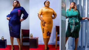 Des tenues coupées à l'européenne avec une identité africaine et beaucoup de féminité, c'est la tenue de l'«executive women»