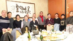 民主中国阵线、荷兰民阵组织織、独立中文笔会及维权人士在荷兰海牙聚会