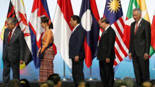 Lãnh đạo ASEAN tại thượng đỉnh lần thứ 33 ở Singapore, ngày 13/11/2018.