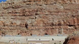 Les Etats-Unis importent 94% de leur uranium, contre 50% il y a trente ans. (Photo d'illustration : une mine d'uranium dans le désert de l'Uthah)