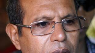 Jose Maria de Vasconcelos dit «Taur Matan Ruak », le 16 avril 2012.