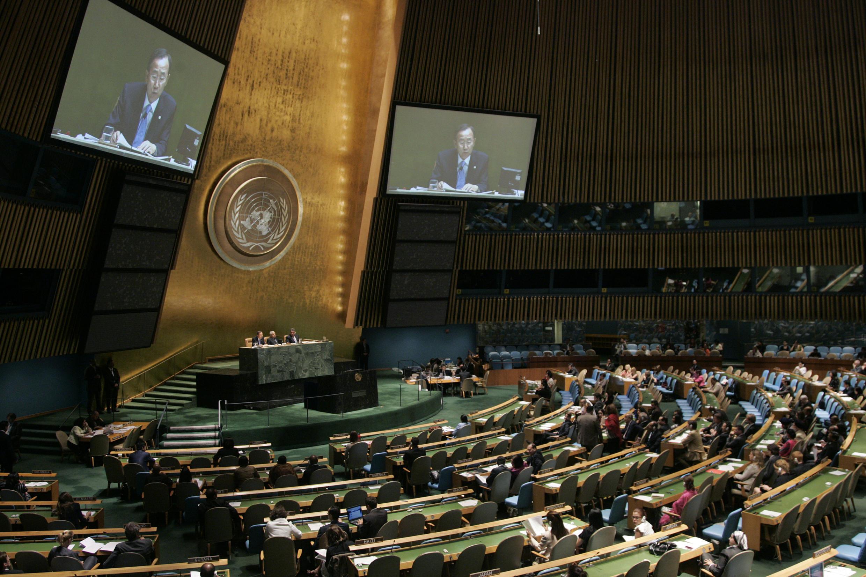 Assembléia Geral da ONU.