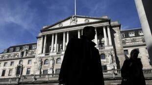 Siège de la Banque d'Angleterre.