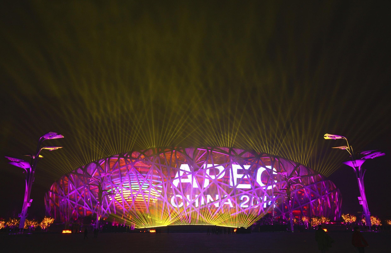 2014年亞太經合組織(APEC)領導人會議正式啟動。2014-11-04