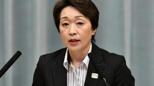 La ministre japonaise des Jeux olympiques 2020 Seiko Hashimoto lors d'une conférence de presse à Tokyo le 11 september 2019.