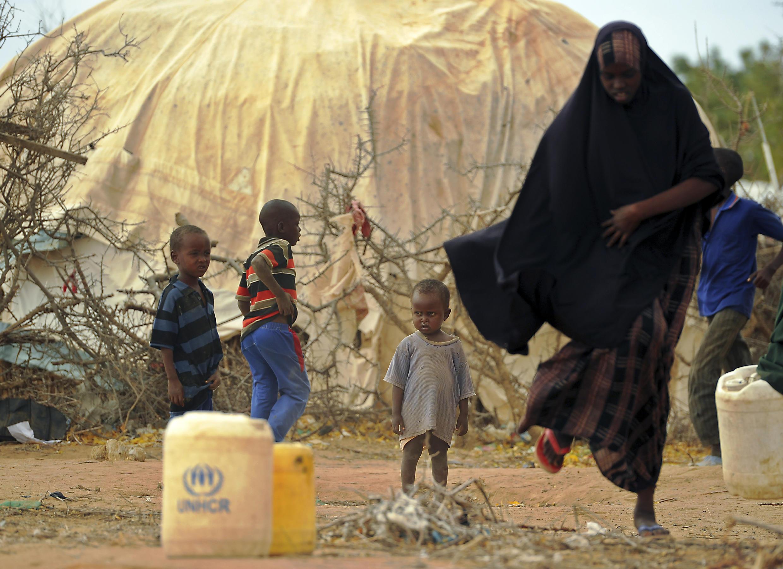 'Yan gudun hijra fiye da dubu dari biyu ke rayuwa a sansanin Dadaab.