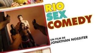 """Cartaz de divulgação do filme """"Rio Sex Comedy""""."""