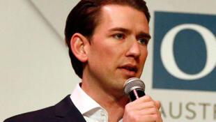 Sebastian Kurz est le président fédéral du Parti populaire autrichien (ÖVP).