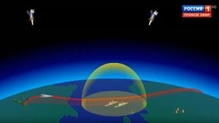 Кадр из мультфильма, который Владимир Путин показал в марте 2018 г. Федеральному собранию
