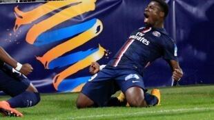 L'Ivoirien Serge Aurier.