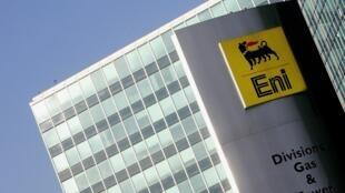 Le siège milanais du groupe pétrolier et gazier ENI.