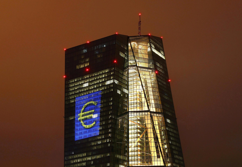 Le siège de la BCE à Francfort, en Allemagne.